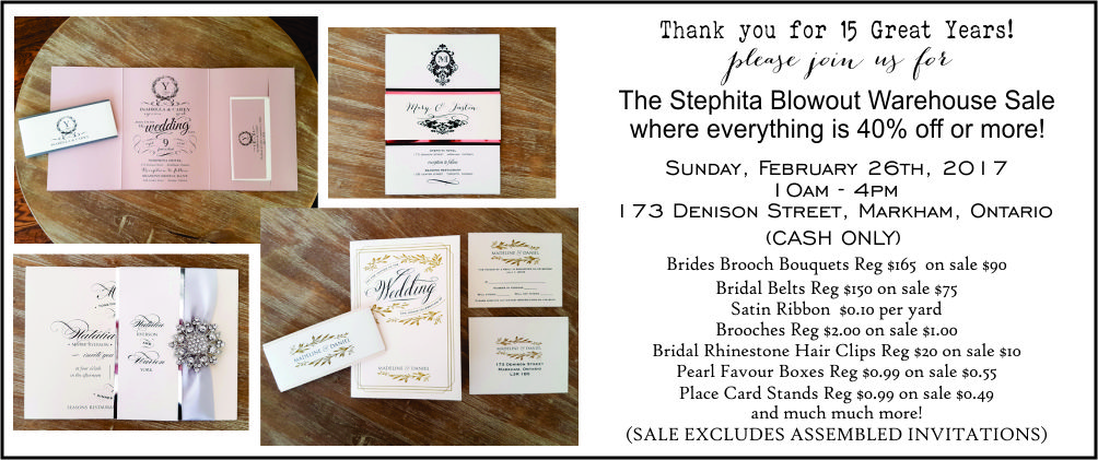 Diy Wedding Invitations Canada: Wedding Invitations Toronto